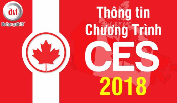 Chương trình visa học tập tại Canada – Canada Express Study (CES) 2018