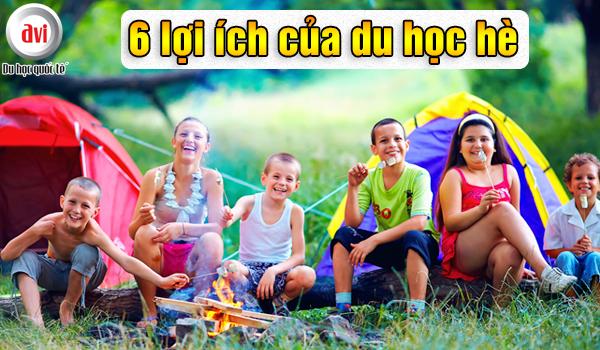 6 lợi ích chương trình trại hè hè giúp trẻ trưởng thành