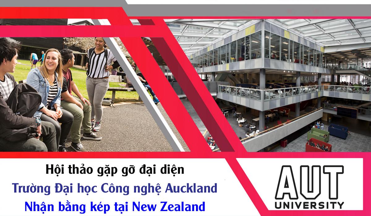 Hội thảo du học New Zealand 2018 cùng đại học công nghệ Auckland (AUT)