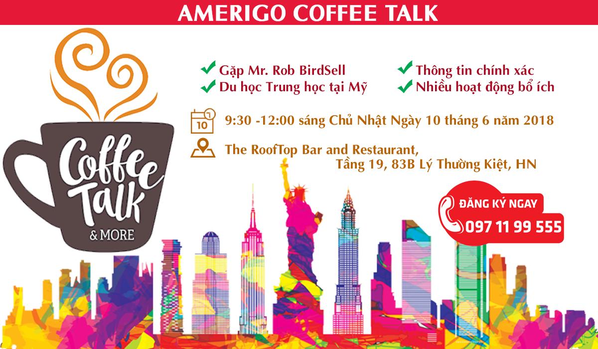 Coffee talk du học Mỹ bậc phổ thông