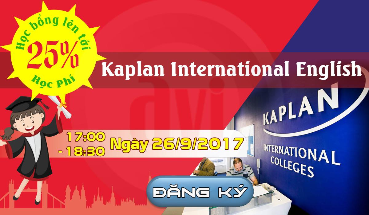 Phỏng vấn học bổng 25% học phí từ Kaplan International English – cơ hội chuyển tiếp vào các trường đại học hàng đầu của Mỹ và Canada