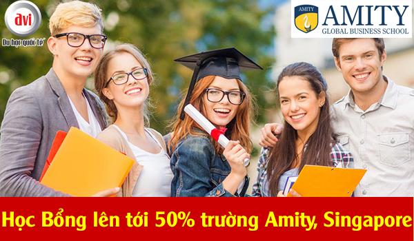Rinh ngay học bổng lên tới 50% từ Amity Singapore