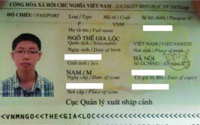 Visa Du Học Singapore: Ngô Thế Gia Lộc, Học viện Quản lý Singapore (SIM), Singapore