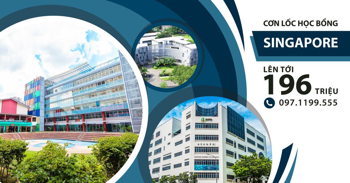 Cơn lốc Học bổng Singapore 2018