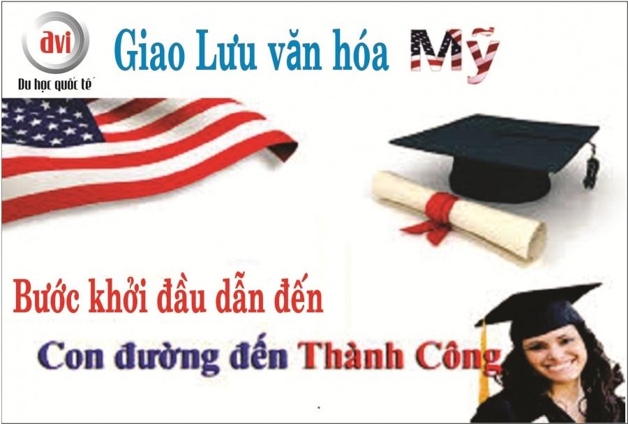 Học bổng 100% và chương trình giao lưu văn hóa Mỹ
