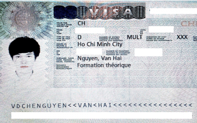 Visa Du Học Thụy Sĩ: Nguyễn Văn Hải – Trường Swiss IM&H, Thụy Sĩ