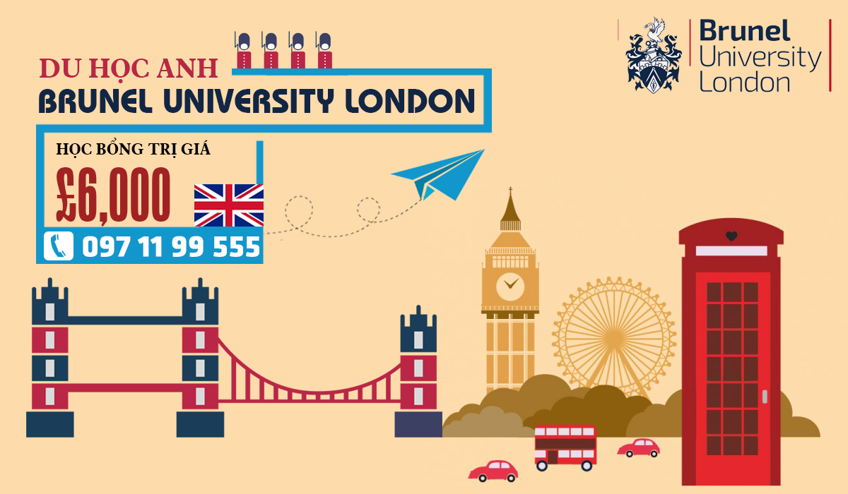 Nhanh tay giành ngay học bổng lên tới 200 triệu tại đại học Brunel University London