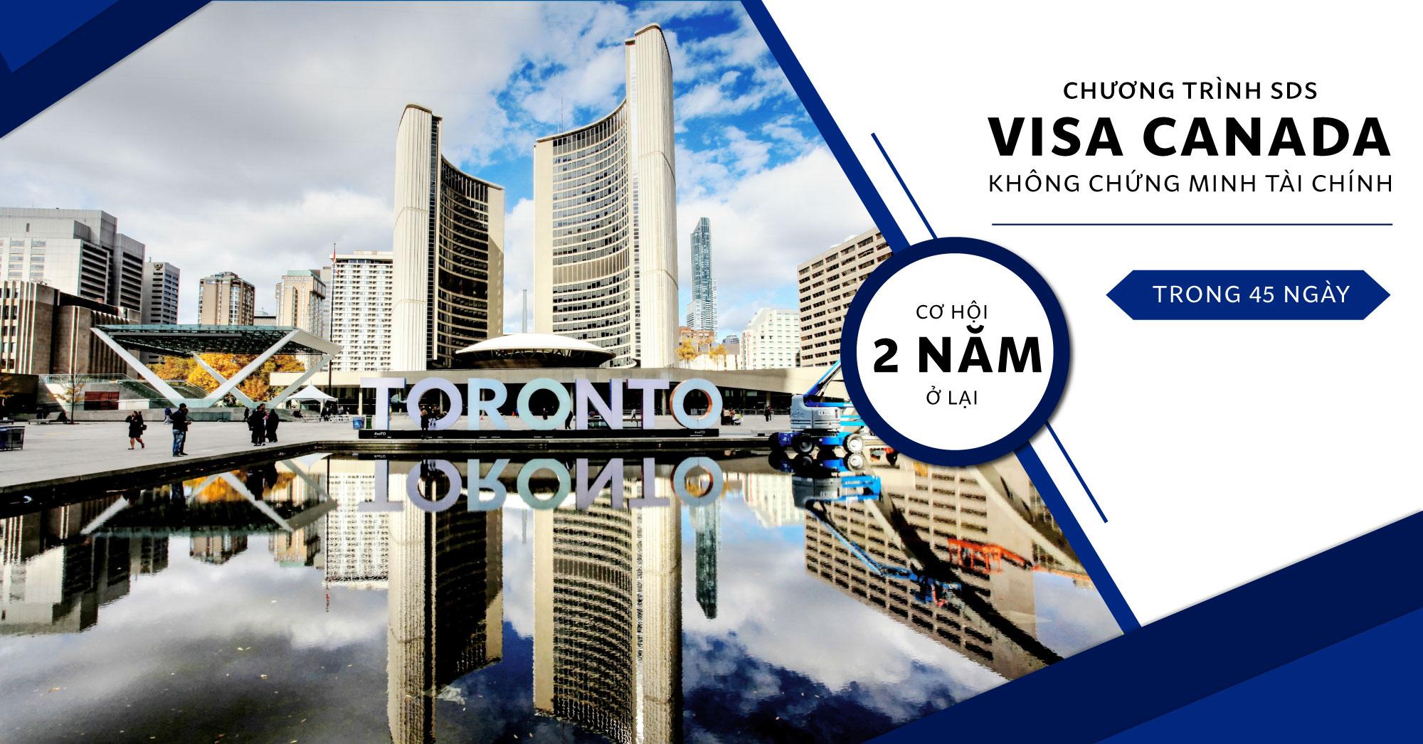 Khẩn- Khởi động chương trình SDS, Du học Canada với VISA ưu tiên
