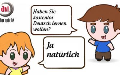 Học tiếng Đức hoàn toàn miễn phí! Nhanh tay đăng ký