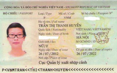 Visa Du Học Úc: Trần Thị Thanh Huyền, Trường Tafe New South Wales, ÚC