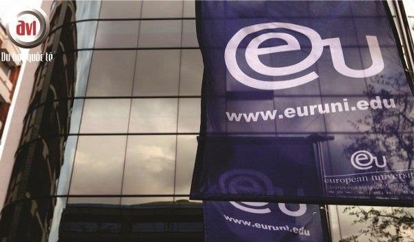 Gặp gỡ đại diện Trường Đại học Châu Âu (European University Business School)
