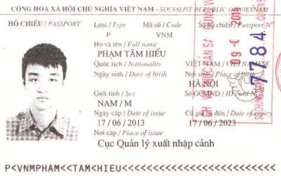 Visa Du Học Singapore: Phạm Tâm Hiếu, Học viện Kaplan Singapore