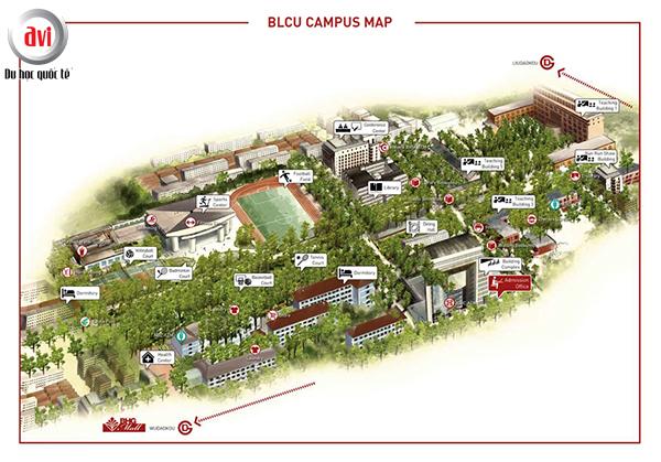 Bản đồ đại học ngôn ngữ bắc kinh