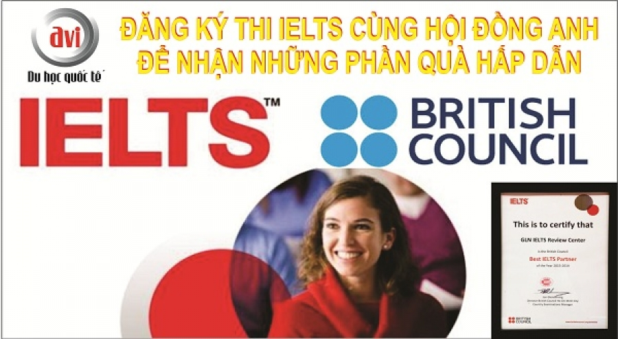 Ưu đãi đăng ký thi IELTS của British Council