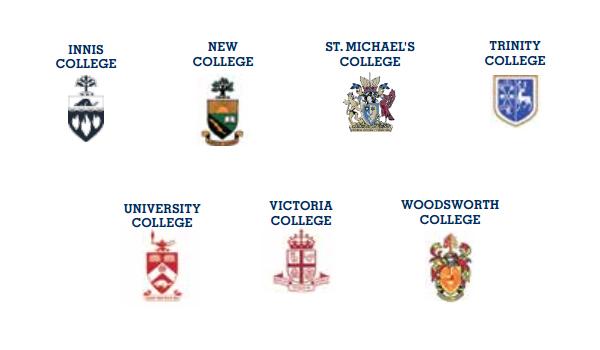 Các trường đại học trực thuộc đại học Toronto