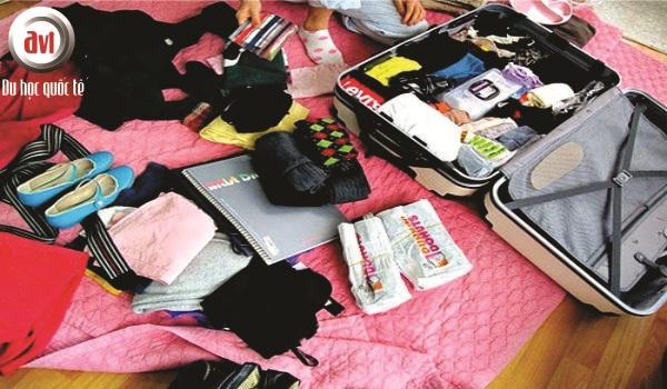 hành lý du học úc