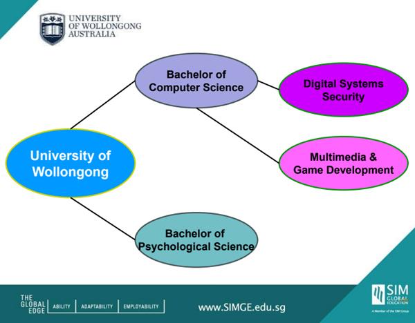 Liên kết đào tạo cử nhân giữa học viện quản lý Singapore - Đại học Wollongong