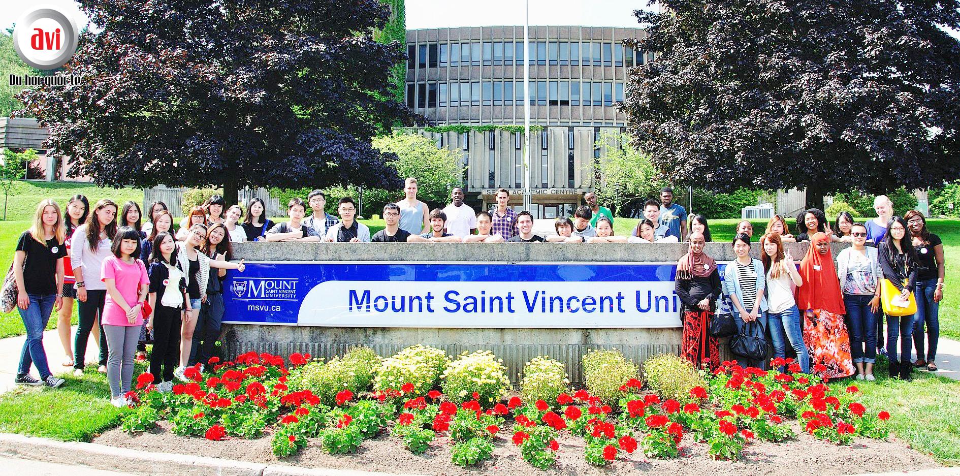 Chuyên ngành đào tạo Mount Saint Vincent