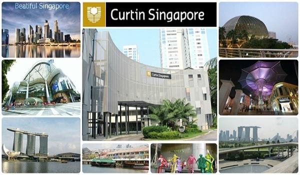 khu học xá Curtin Singapore