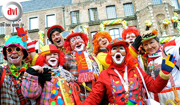 Lễ hội hóa trang Karneval diễn ra ở khắp nơi