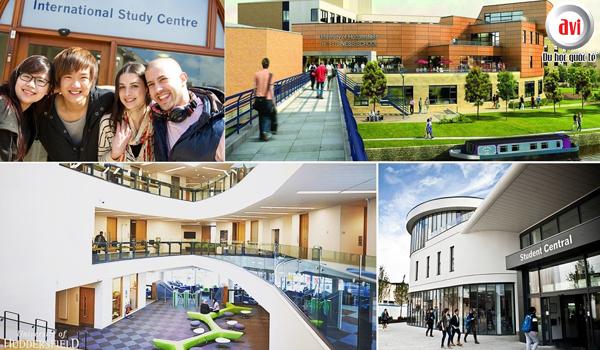 Đại học Huddersfield, vương quốc Anh