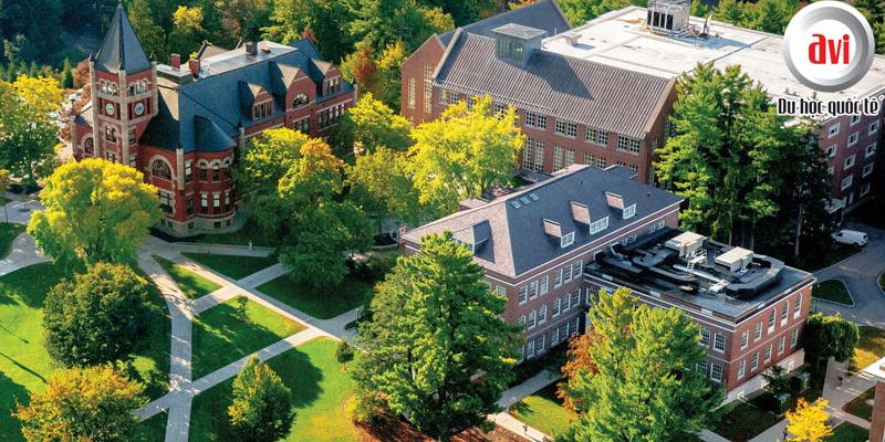 New Hampshire là một trong các trường đại học nghiên cứu hàng đầu tại Mỹ.