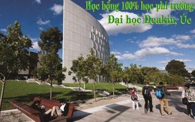 Cơ hội nhận học bổng toàn phần của Đại Học Deakin