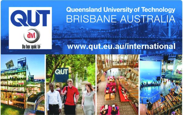 Đại học QUT tổ chức chương trình học bổng Tripple Crown và học bổng ngành Công nghiệp sáng tạo