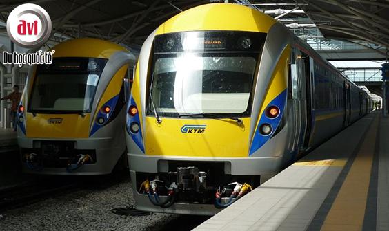 Hệ thống đường sắt phát triển mạnh tại Malaysia phát triển mạnh