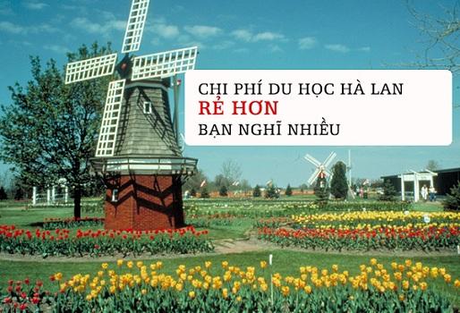 Du học Hà Lan với chi phí rẻ
