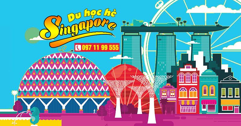 Du học hè Singapore - trải nghiệm đảo quốc sư tử 2018