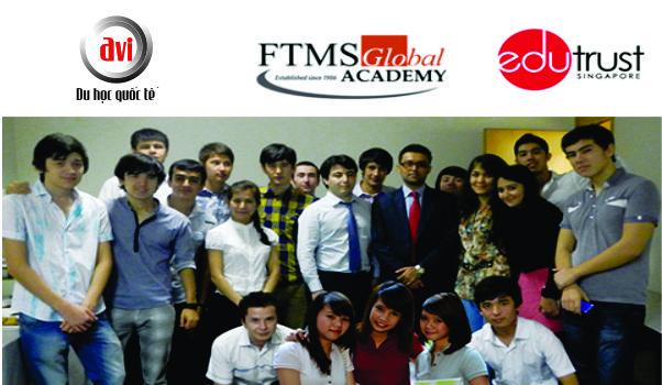 học sinh và giảng viên trường FTMS