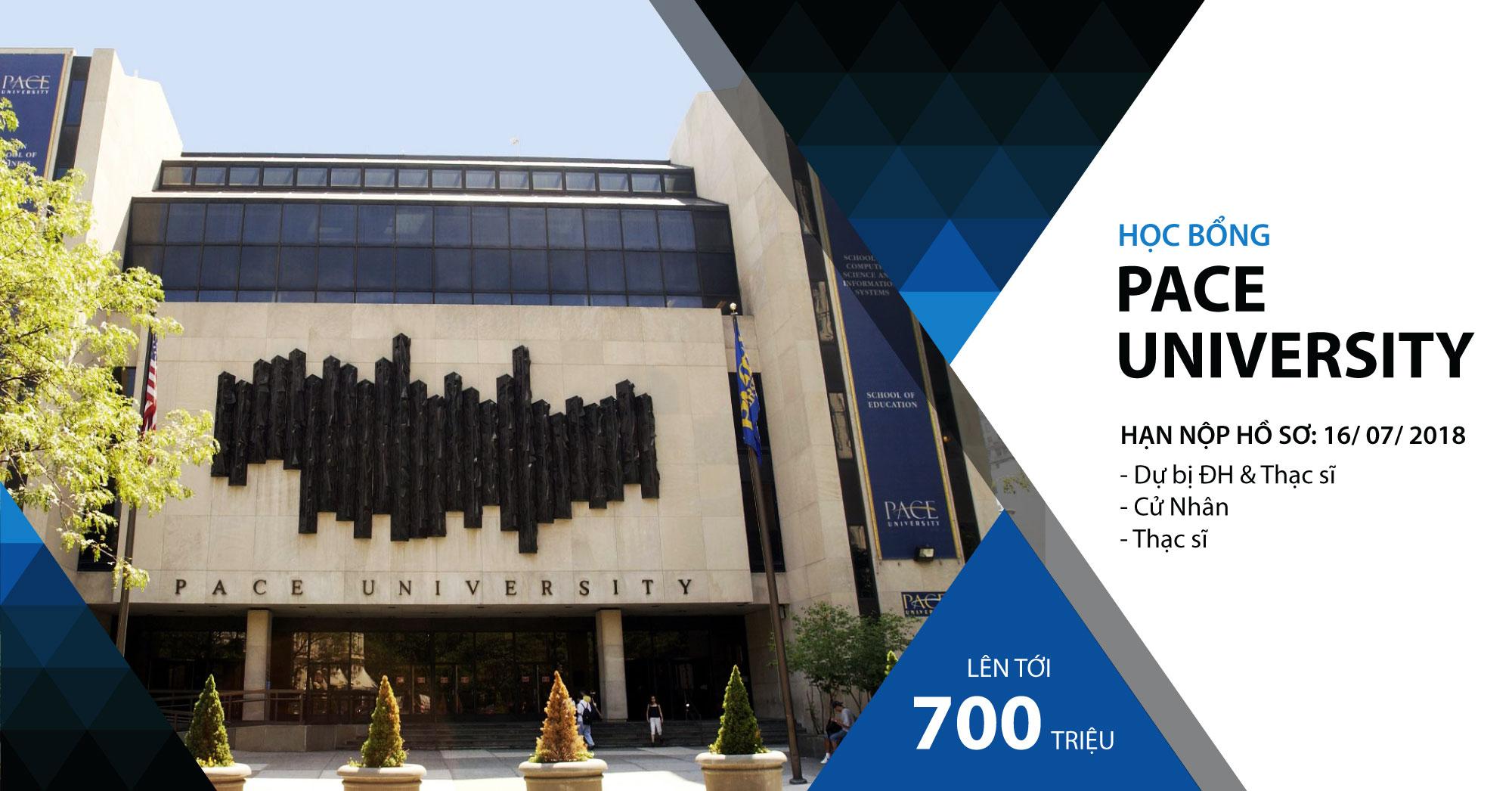 Học bổng đại học Pace