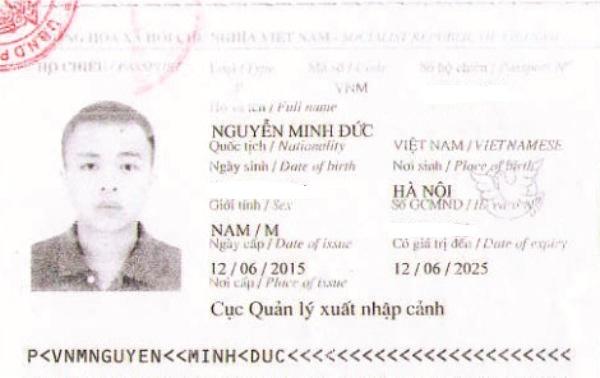 Hộ chiếu Minh Đức