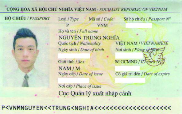 hộ chiếu trung nghĩa