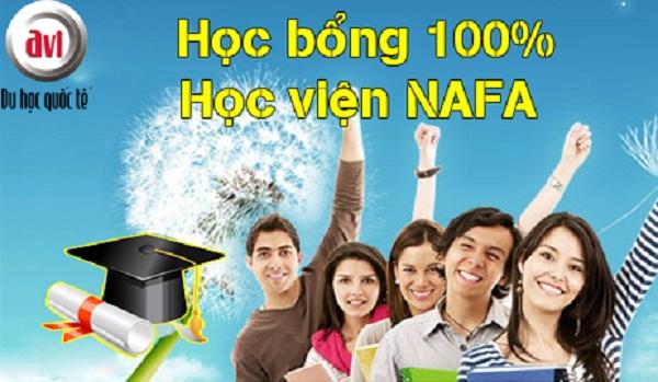 học bổng 100% học phí & sinh hoạt phí tại học viện nafa