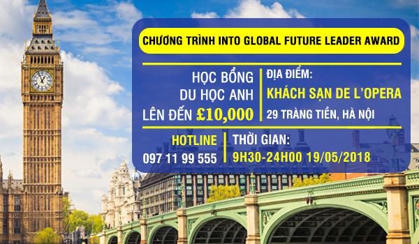 Chương trình học bổng 10 000 GBP, Into, Anh