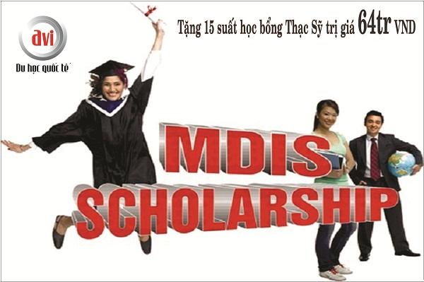 học bổng thạc sĩ MDIS Singapore