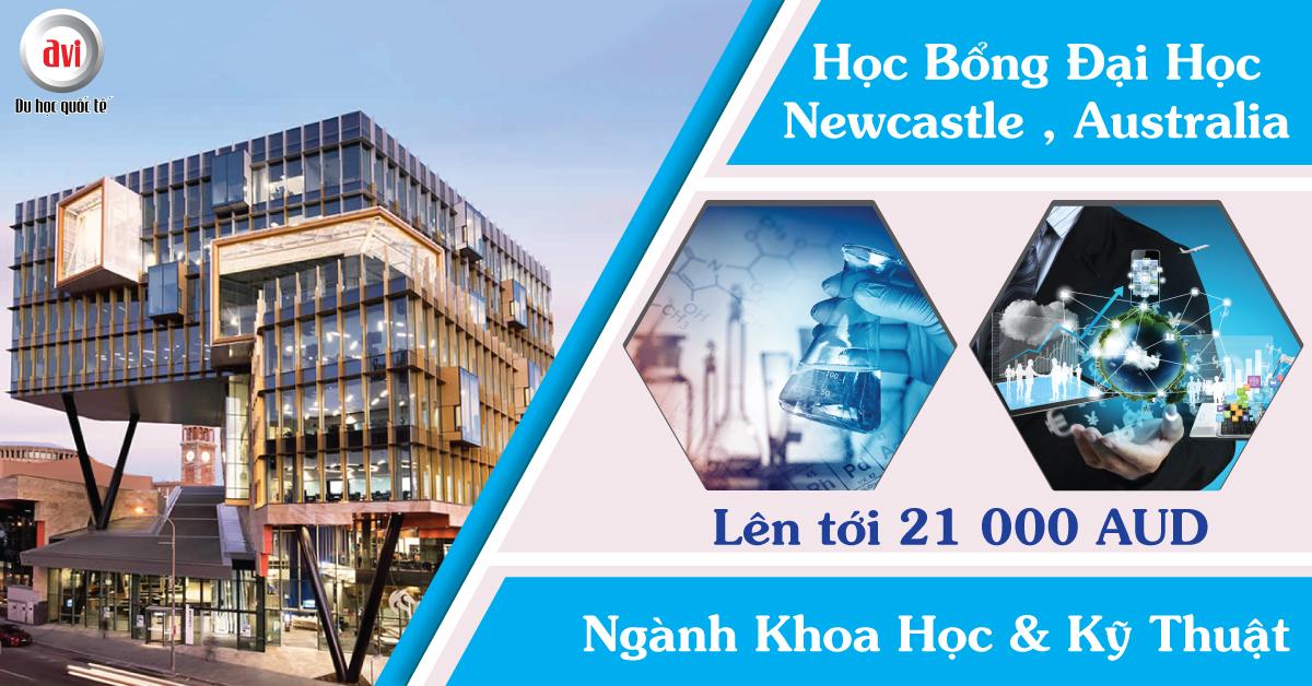 Chương trình học bổng 2019 tại Newcastle