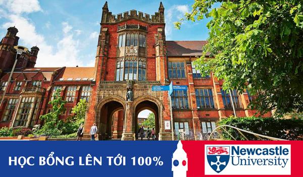 Học bổng lên tới 100% Đại học Newcastle, vương quốc Anh
