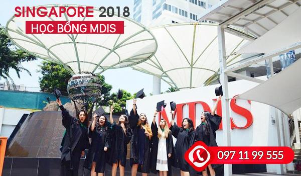 Học bổng MDIS dành cho sinh viên quốc tế