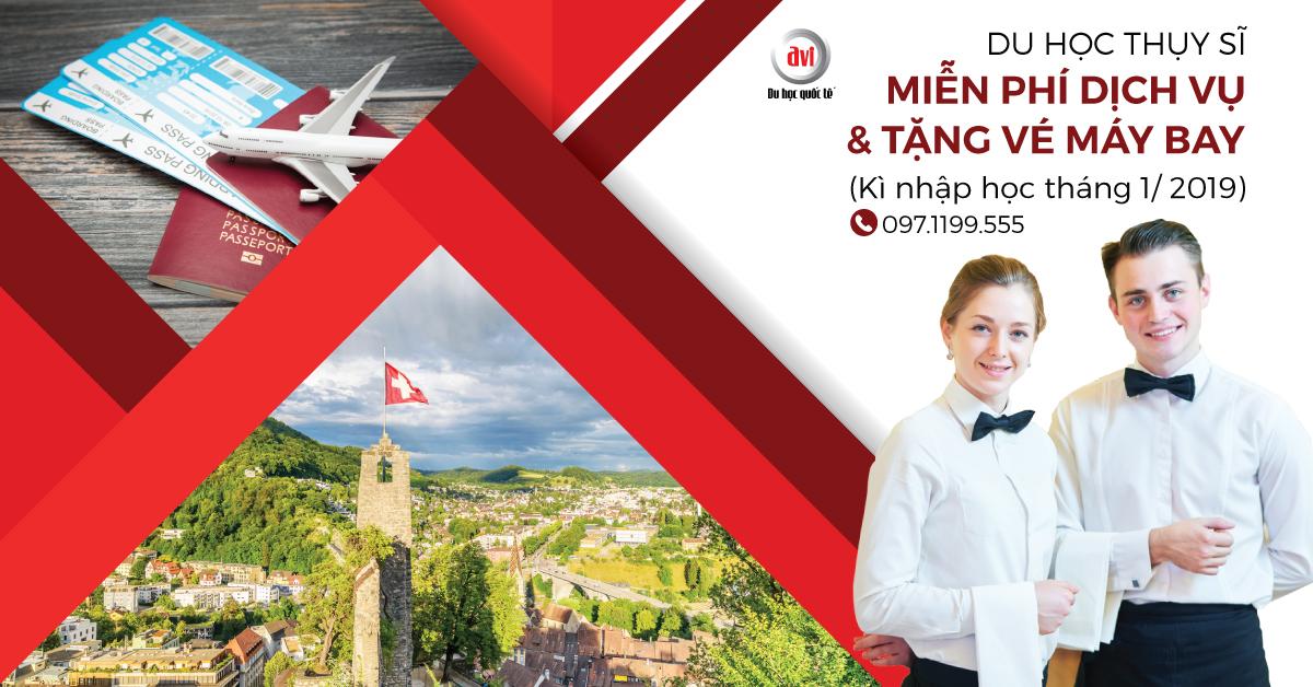 Thực tập hưởng lương học viện HTMi, Thụy Sĩ