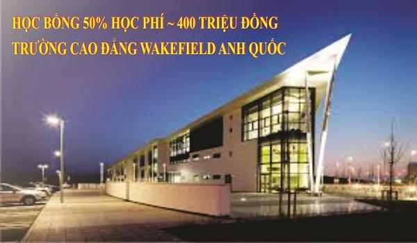 Học bổng  lên tới 400 triệu đồng từ trường Cao đẳng Wakefield