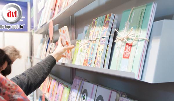 Hội chợ sách cuối tháng 3 tại Đức