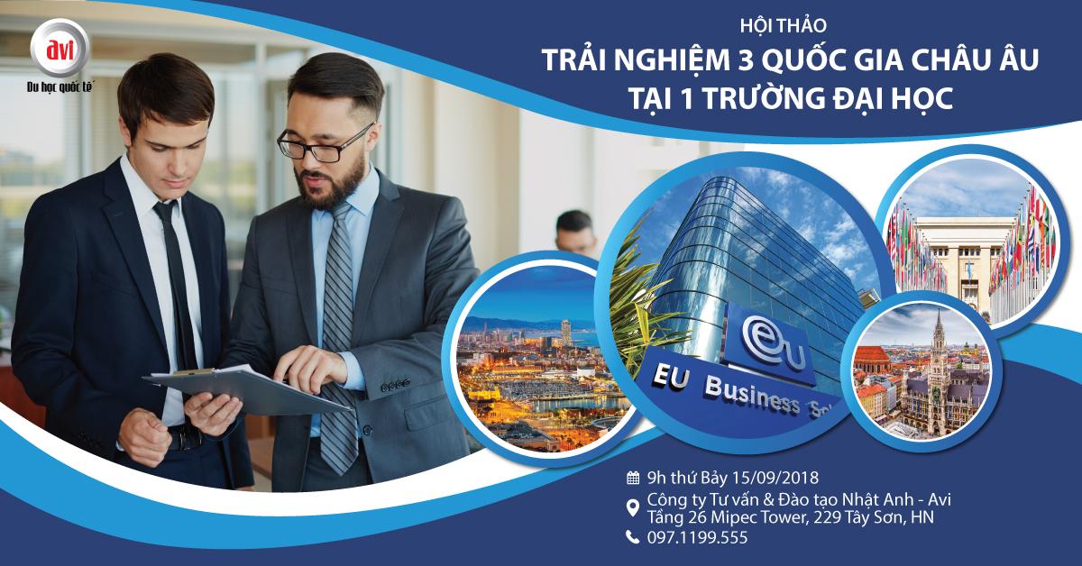 Hội thảo đại học kinh doanh Châu Âu - Eu Business School cùng ngài Kenneth Quah