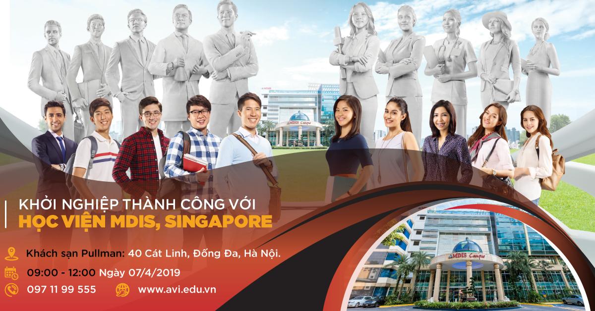 Khởi Nghiệp Thành Công Với Học Viện Mdis Singapore