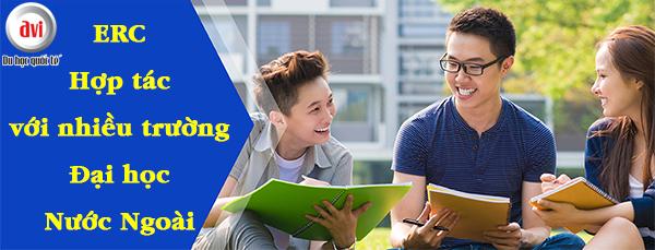 ERC Institute hợp tác với các trường đại học nước ngoài để nâng cao hơn chất lượng giáo dục