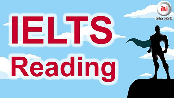 Bài thi IELTS Reading
