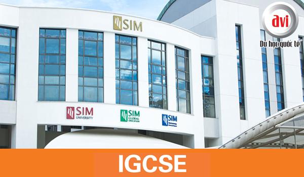 Chương trình IGCSE tại SIM
