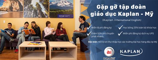 Gặp gỡ tập đoàn giáo dục KAPLAN- Mỹ